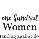 100 women strong logo